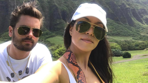 Kourtney-Kardashian-Poses-With-Scott-Disick-Selfie