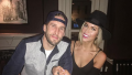 Shawn Booth and Kaitlyn out to dinner, Kaitlyn and Shawn are both wearing hats