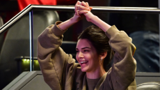 Kendall Jenner, Cheering, Ben Simmons, Barclays Center