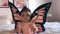 Stormi Webster, Butterfly Costume,