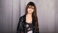 Selena Gomez posing