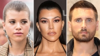 Sofia Richie Kourtney Kardashian Scott Disick
