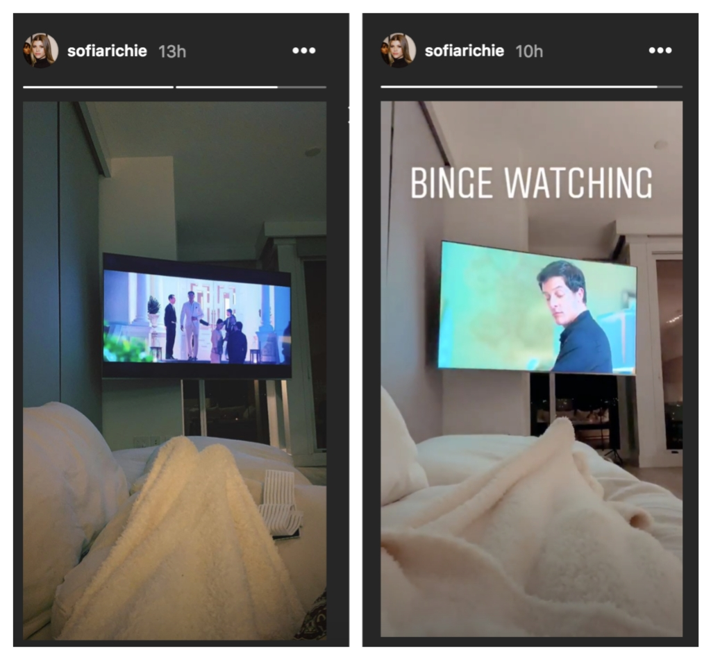 Sofia-Richie-Laying-On-Scott-Disick-Couch