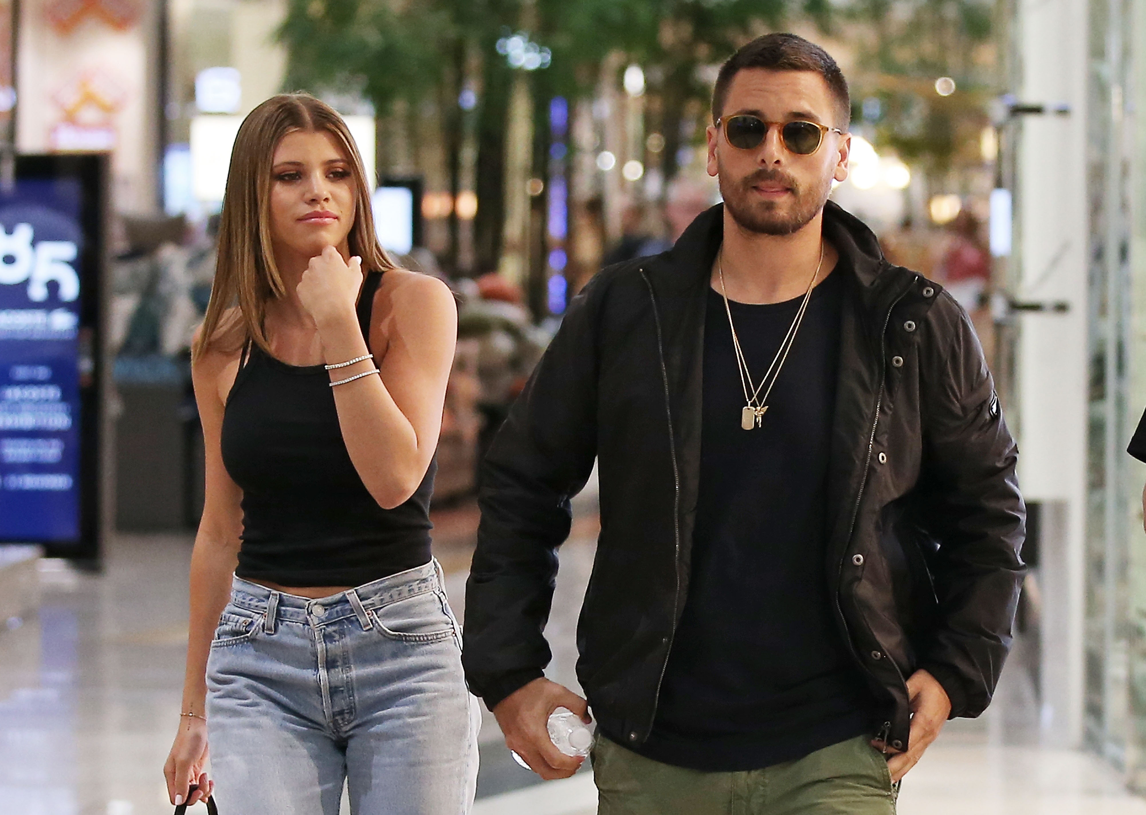 7c3e783b759fd Sofia Richie  Heavily Suspects  Scott Disick Is Sleeping With Kourtney  Kardashian   It Consumes Her