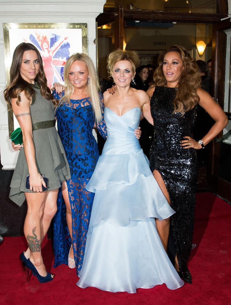 The Spice Girls at an event