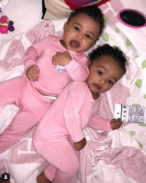 Stormi and Chi having a playdate