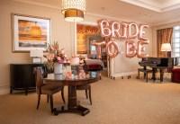 Suite setup at The Venetian Resort for Lauren Burnham