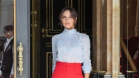 Victoria Beckham out in France