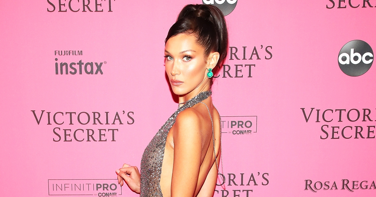 b1880b8c8d6e The Best Pink Carpet Looks From The Victoria s Secret Fashion Show