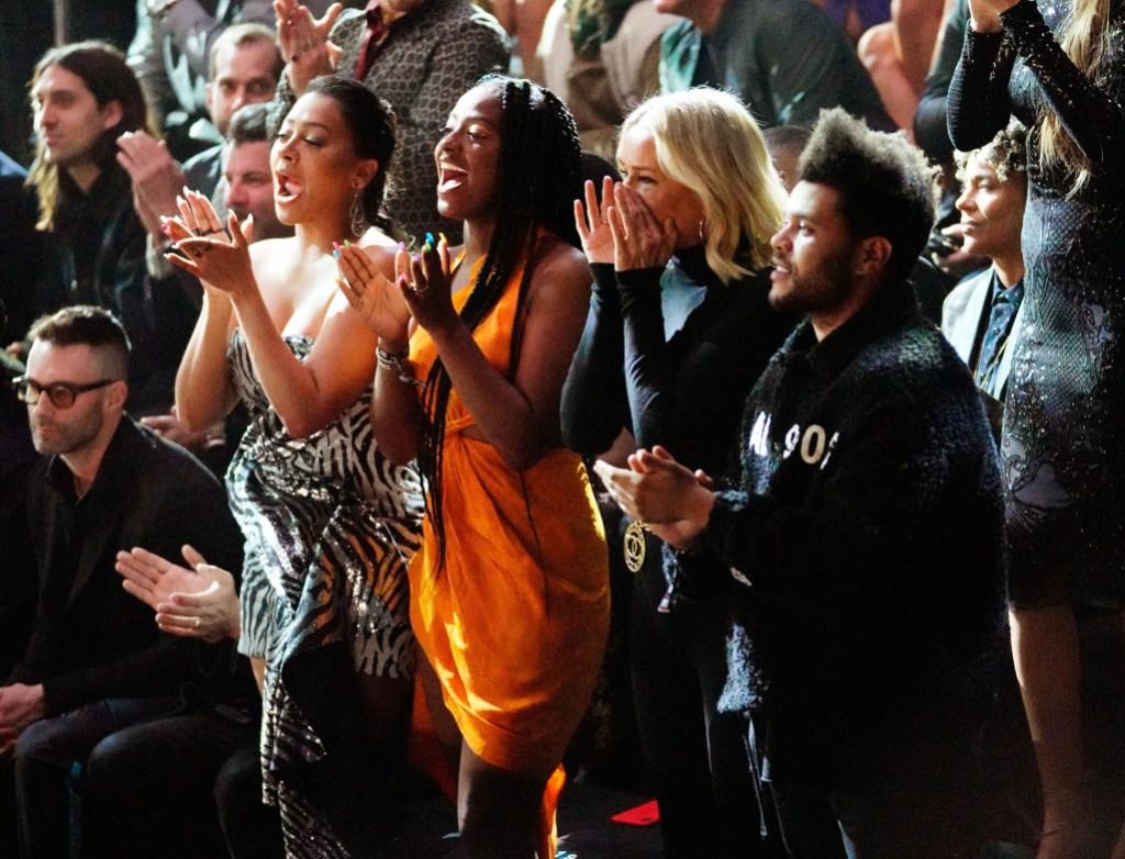 The Weeknd Yolanda Hadid VS Fashion Show