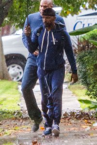 Um, Can Anybody Explain What's Happening With Jamie Foxx's Weird Sweatshirt Pants?