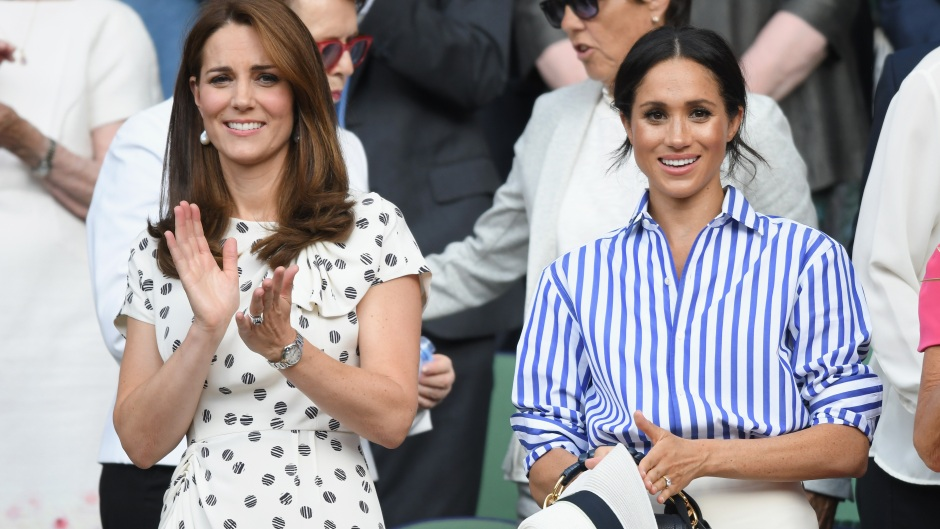 Kate Middleton and Meghan Markle Baby Shower