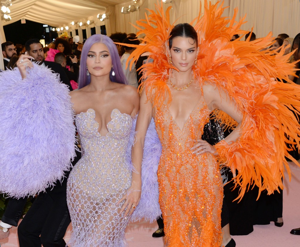 Kendall and Kylie Jenner Style Evolution Met Gala 2020