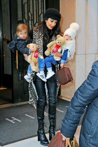 Amal Clooney's Kids Are Too Cute In Cozy Winter Clothes As Family Steps Out In New York