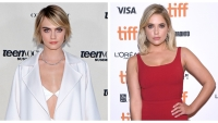 Cara Delevingne, Ashley Benson, Split Image