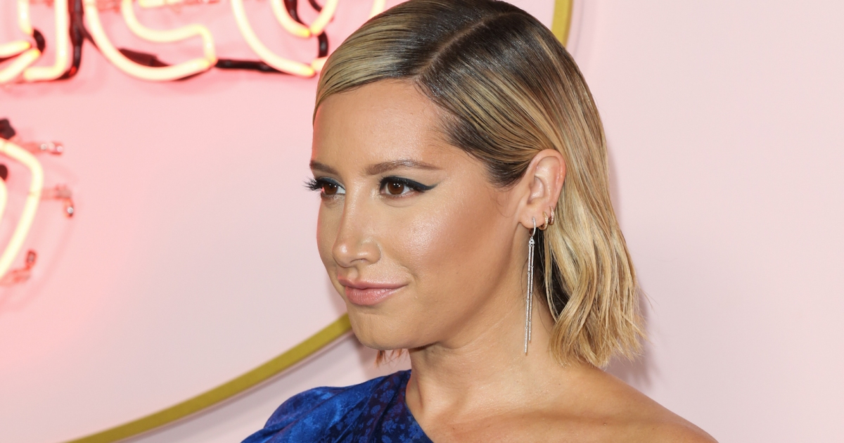 Ashley Tisdale's Major Hair Transformation: See Her Stunning New Pink Bob!