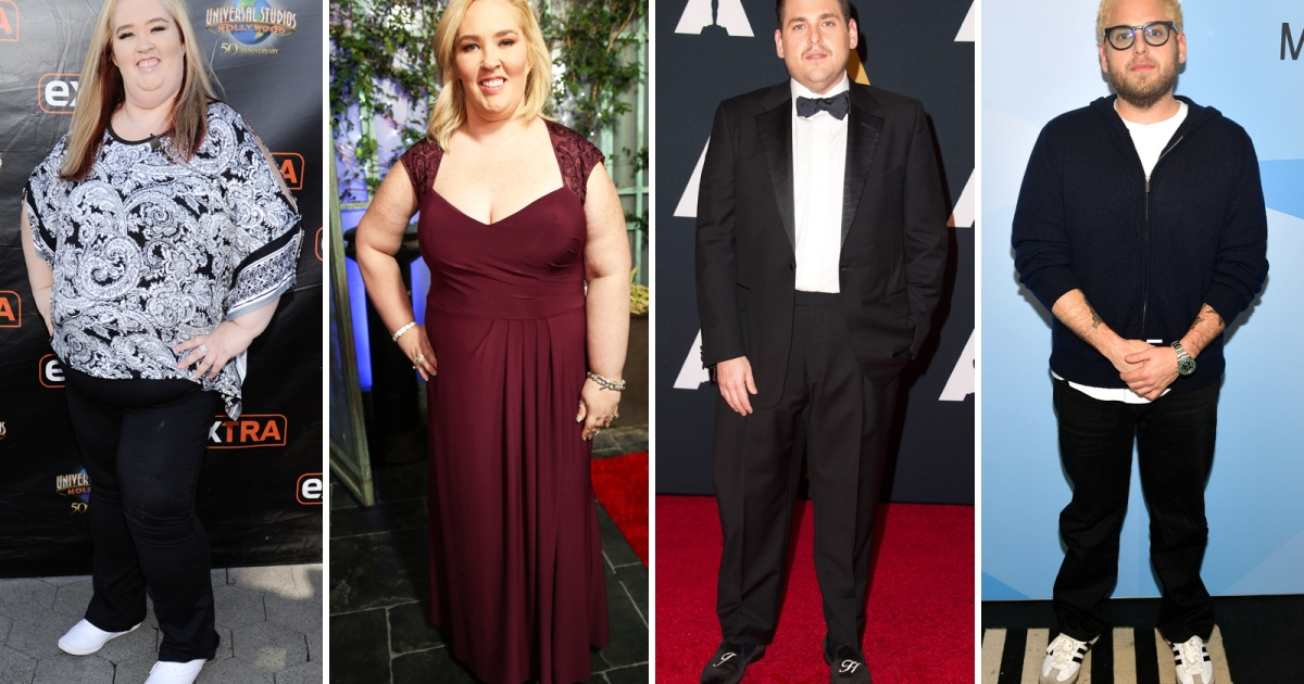Celebrity Weight Loss Before and After Pictures   2012