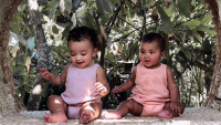 Chicago West and True Thompson in Bali