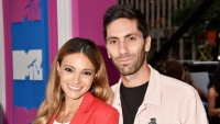 Laura Perlong with Nev Schulman at an event