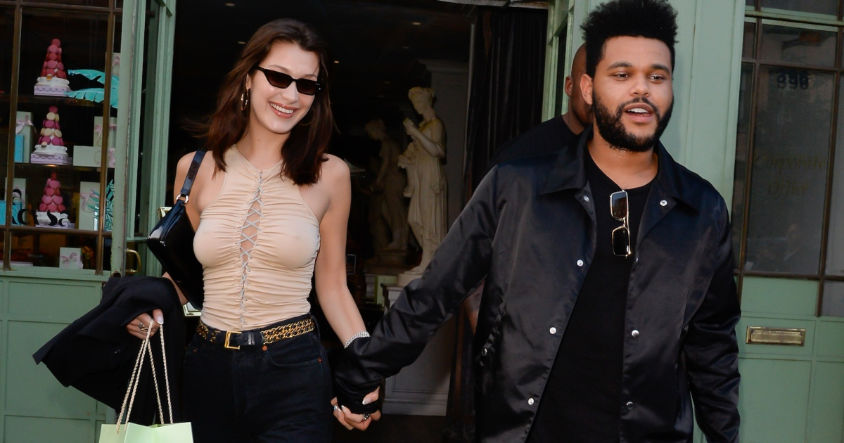 who is the weeknd dating right now