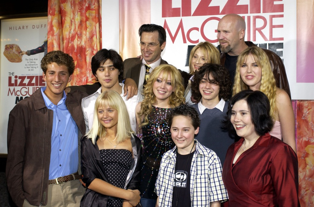 The cast of Lizzie McGuire at an event