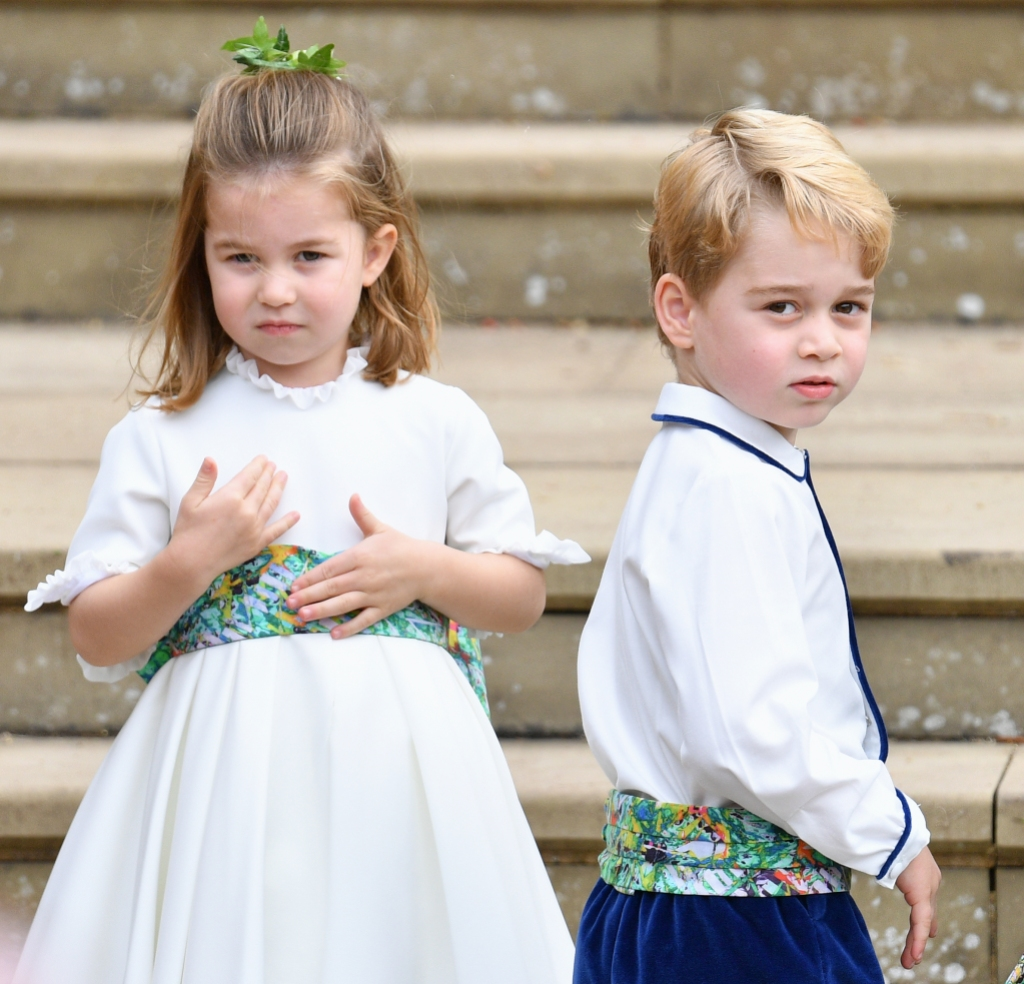Princess Charlotte Prince George decorate their own christmas trees