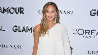 Chrissy Teigen gets called out on Instagram for putting a pan of food on the floor