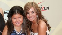 what does demi lovatos little sister madison de la garza look like now