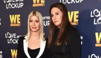 Caitlyn Jenner and Sophia Hutchins At WETV Event