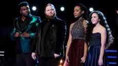 Who won the voice season 15 Chevel Shepherd took home the prize