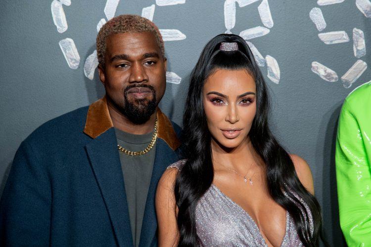 Kim Kardashian, Kanye West, Versace, Fall 2019, Fashion Show