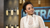 Mel B injury in hospital during book signing for Brutally Honest