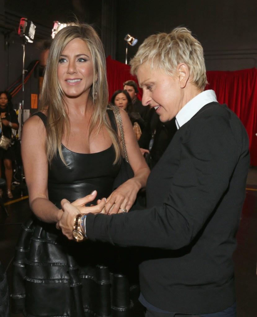 Jennifer Aniston on Ellen DeGeneres Show