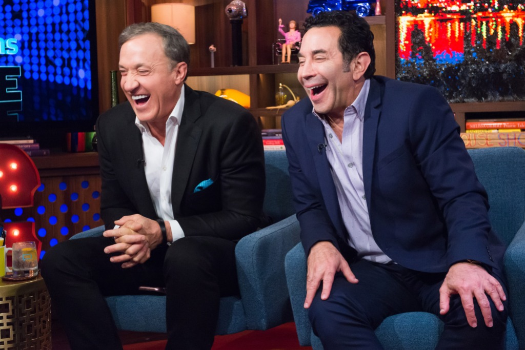 Dr. Terry Dubrow and Dr. Paul Nassif on Watch What Happens Live