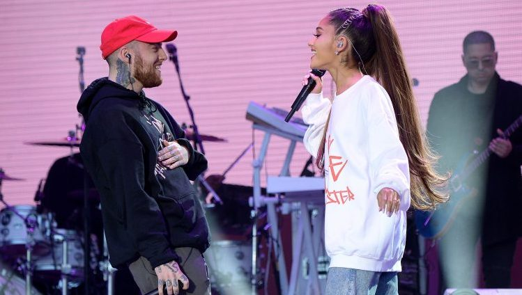Mac Miller, Ariana Grande, On Stage, Singing