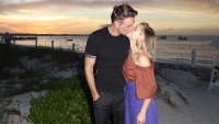 Dax Shepard, Kristen Bell, Kissing