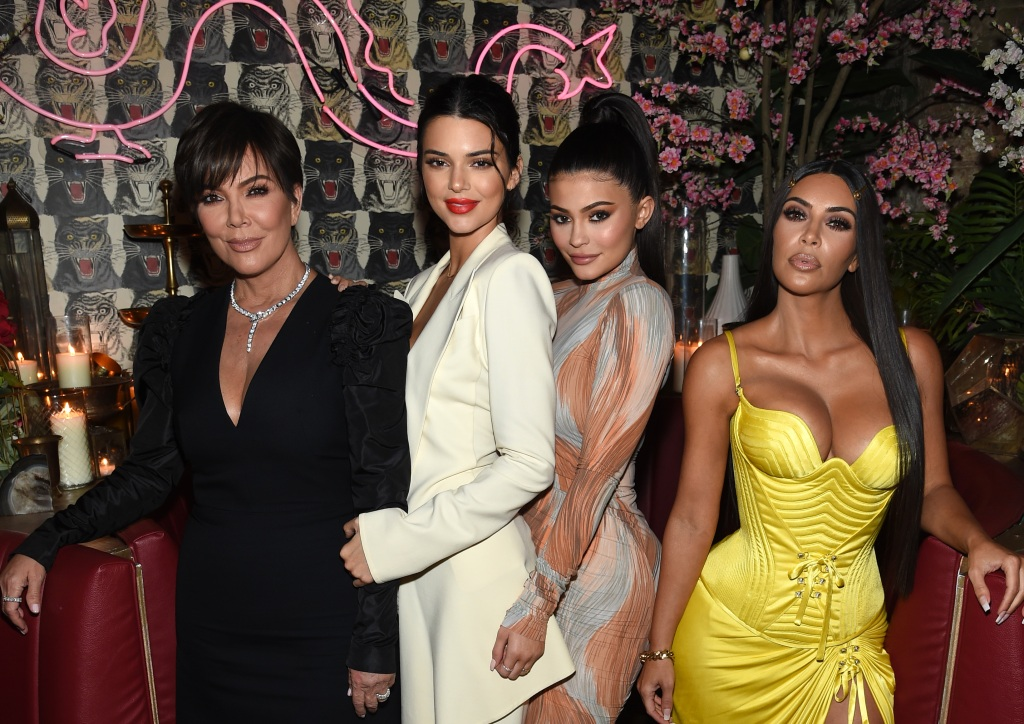 Kim Kardashian Kylie Jenner Kendall Jenner Kris Jenner