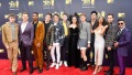 13 Reasons Why cast all together on a red carpet