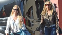 The Hills Behind the scenes shooting Heidi Montag And Stephanie Pratt