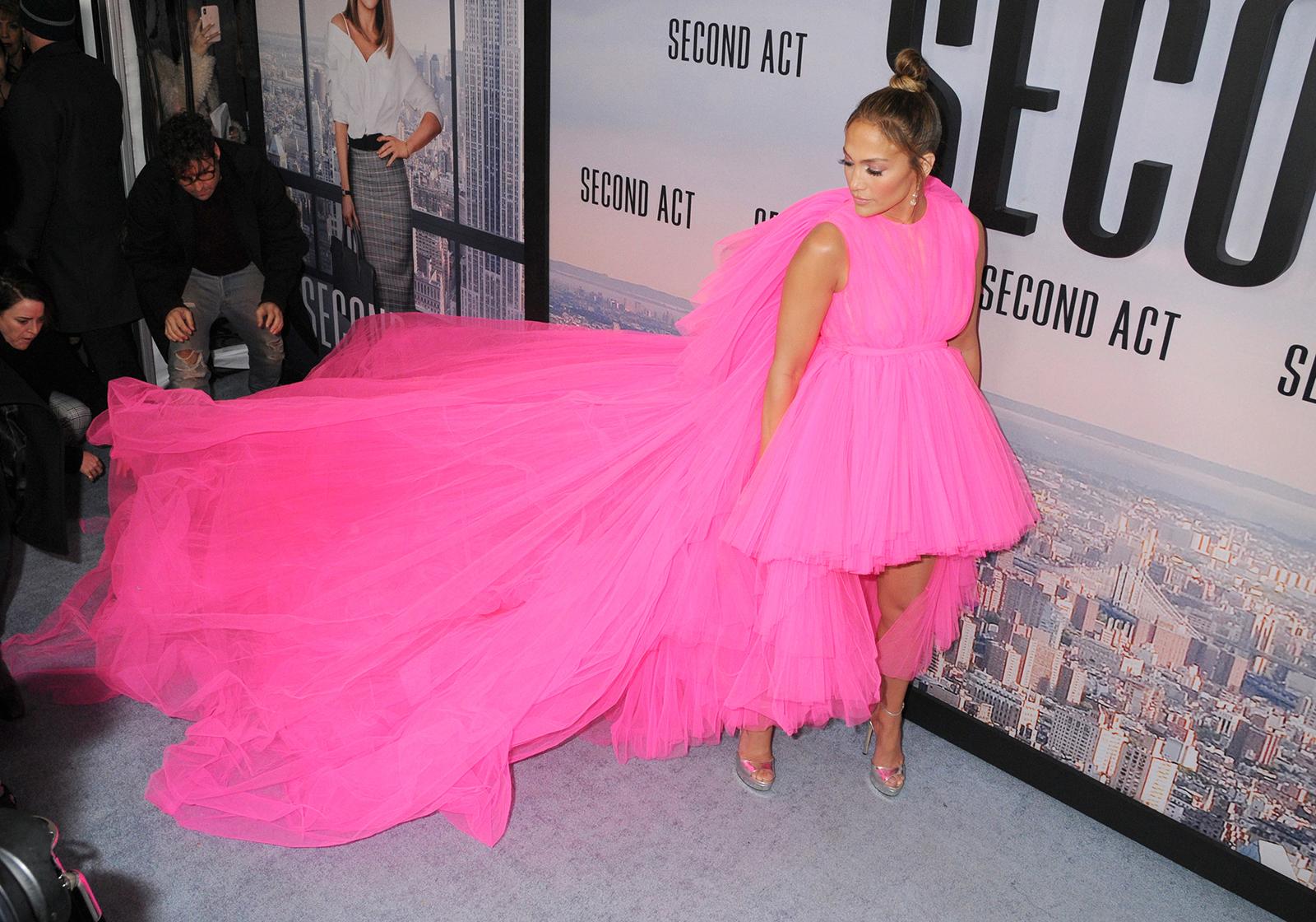 Pink Poofy Dress