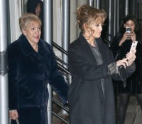Jennifer Lopez and mother out and about in New York