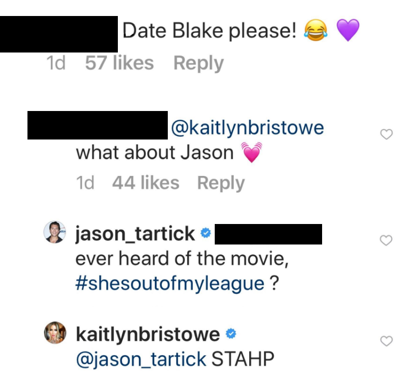 Bachelor Nation Begs Jason Tartick To Ask Kaitlyn Bristowe Out Amid Romance Rumors