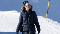 Kaley Cuoco's Looks Like A Total Snow Bunny In Honeymoon Pics With Karl Cook