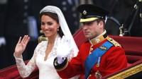 Kate Middleton and Prince William at their royal wedding