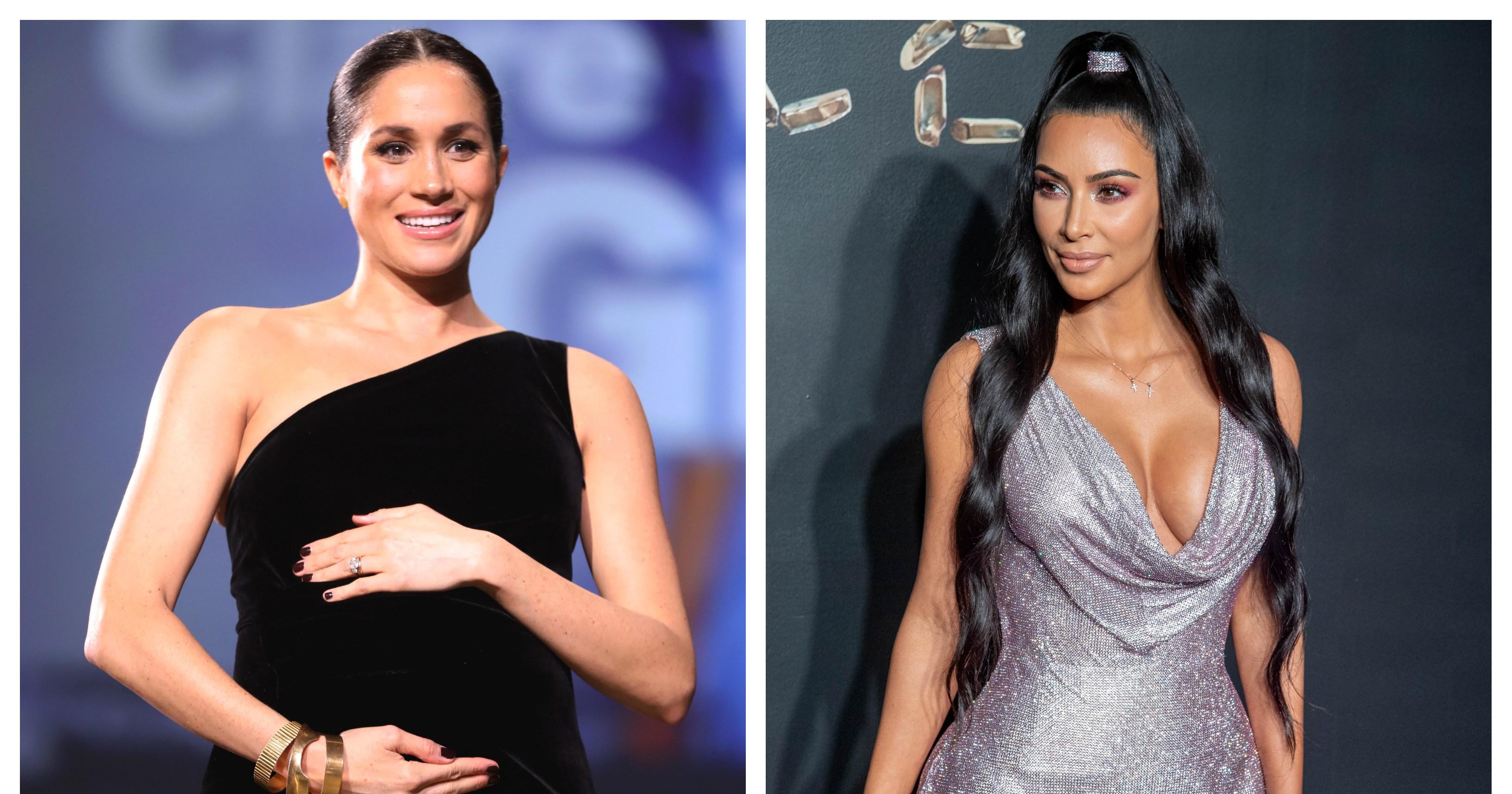 Kim Kardashian Wants To Send Meghan Markle A 'Truly Impressive' Baby Gift, Source Says