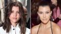 Kourtney Kardashian and Sofia Richie