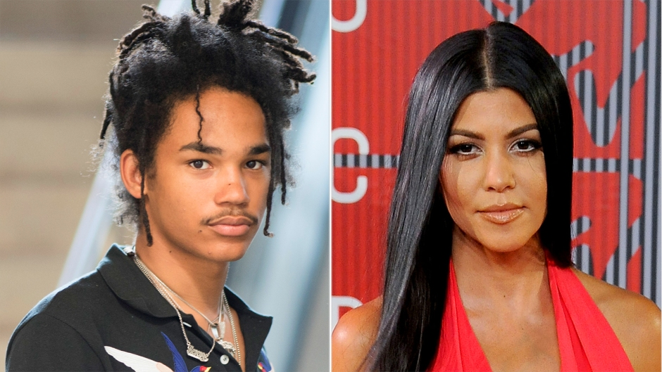 Luka Sabbat Spotted At Mason And Reign's Birthday Party