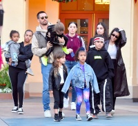 Kourtney Kardashian, Scott Disick, Universal Studios