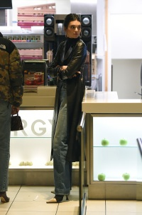 Kendall Jenner proves that supermodels do eat junk food, by stopping off at McDonald's on Oxford Street, following her red carpet appearance at the British Fashion Awards.