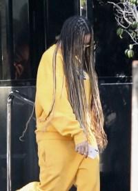 Beyonce, Running Errands, Orange Jumpsuit